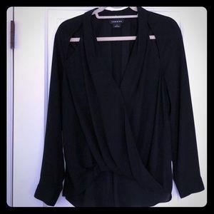 Trouve women's black blouse